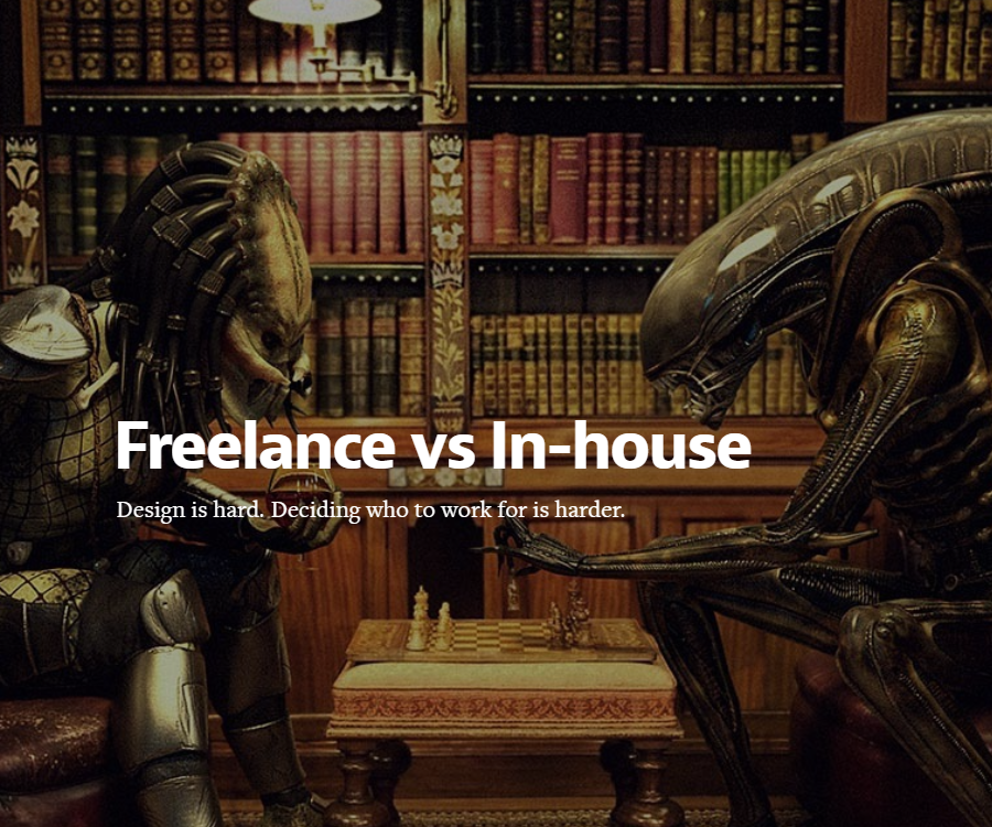 Freelance vs In-house